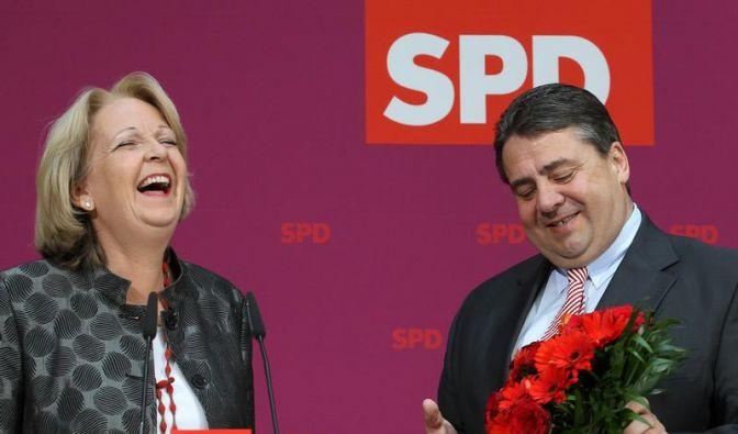 Rot-Grün peilt nun auch Machtwechsel in Berlin an (Foto)