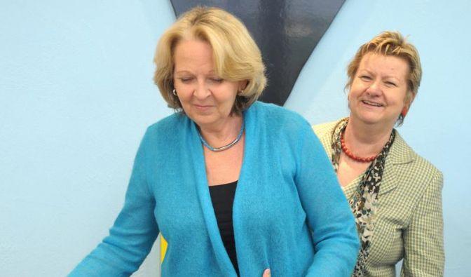 Rot-grüne Koalitionsverhandlungen in NRW vor Abschluss (Foto)