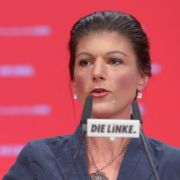 Rot, roter, Sahra Wagenknecht? Mit diesem Image muss sich die Linken-Führerin zumindest nicht mehr rumschlagen. (Foto)