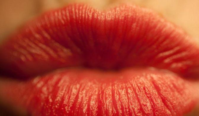 Rote Lippen (Foto)