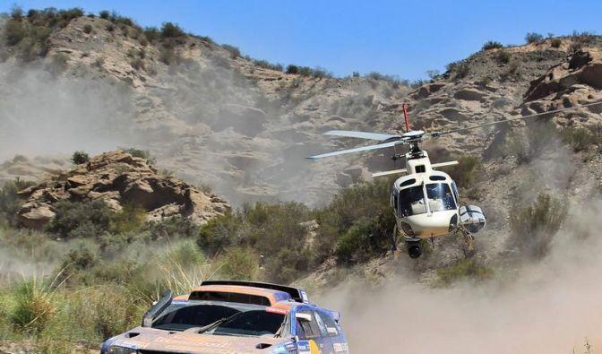 Routenplan der Rallye Dakar 2012 (Foto)