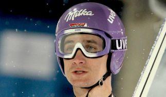 Routinier Martin Schmitt erwägt das Ende seiner Karriere. (Foto)