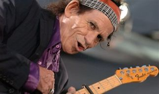 RP Keith Richards Geburtstag (Foto)