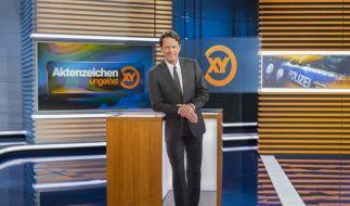 """Rudi Cerne berichtet in """"Aktenzeichen XY... ungelöst"""" über ungeklärte Kriminalfälle. (Foto)"""