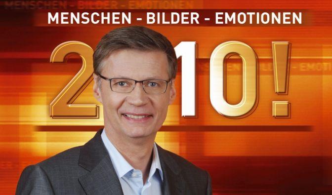 Rückblick: Günther Jauch präsentierte noch einmal das Jahr 2010. (Foto)