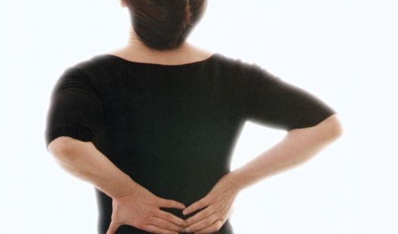 Rückenschmerzen (Foto)