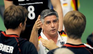 Rückschlag für Volleyballer: 2:3 gegen Japan (Foto)