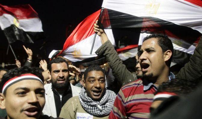 Rücktritt: Mubaraks Regime hat ein Ende (Foto)