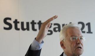 Rüdiger Grube bleibt stur: «Stuttgart 21» wird gebaut - trotz Mehrkosten von 1 Milliarde Euro. (Foto)