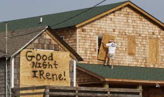 Rüsten für Irene (Foto)
