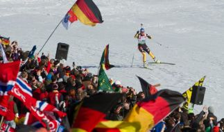 Ruhpolding 2012: Biathlon-WM der Superlative (Foto)