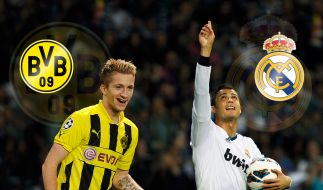 Ruhrpott-Zauberer gegen den König der Königlichen: BVB-Mann Marco Reus tritt gegen Cristiano Ronaldo an. (Foto)