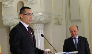 Rumänien: Präsident Basescu droht Absetzung (Foto)