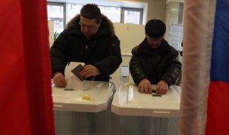 Russen wählen neuen Präsidenten (Foto)