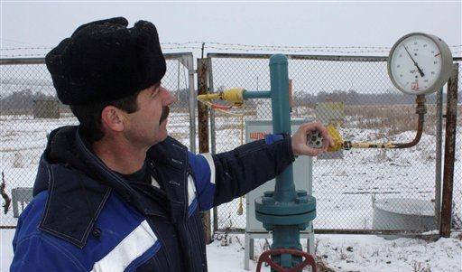 Russia Ukraine Gas (Foto)