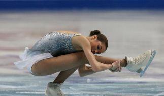 Russin gewinnt Qualifikation bei Eiskunstlauf-EM (Foto)