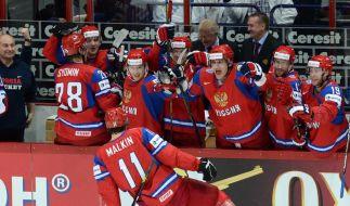Russland trifft im WM-Finale auf die Slowakei (Foto)