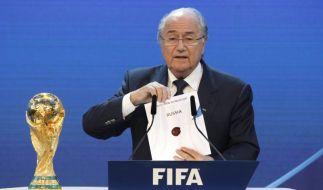 Russland und Katar bekommen die WM's (Foto)