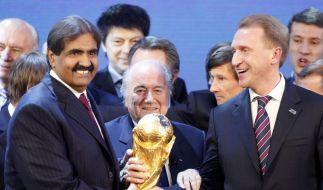 Russland und Katar sind WM-Gastgeber (Foto)