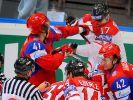 Russlands «rote Maschine»: 36:0 gegen Deutschland (Foto)