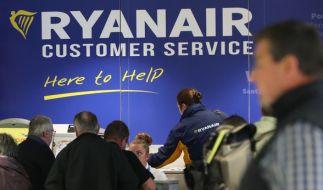 Ryanair streicht weitere Flüge bis März 2018. (Foto)
