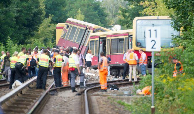 S-Bahn in Berlin entgleist (Foto)
