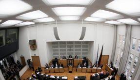 Saar-Landtag will für Neuwahl Weg frei machen (Foto)