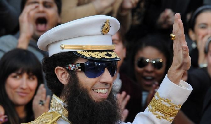 Sacha Baron Cohen «fand Gaddafi immer komisch» (Foto)