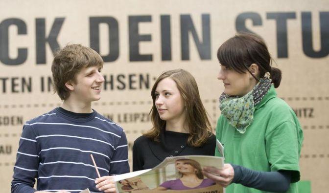 Sachsens Unis werben um bayerische Abiturienten (Foto)