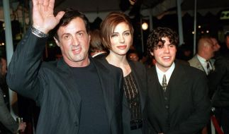 Sage Stallone (rechts), Sohn von Hollywood-Legende Sylvester Stallone, wurde am Freitag tot in seiner Wohnung aufgefunden. (Foto)