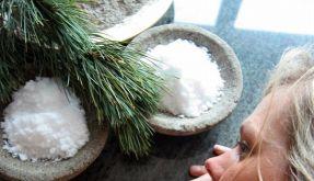 Salz als Wellness-Anwendung (Foto)