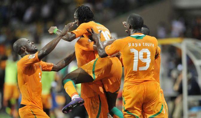 Sambia und die Elfenbeinküste Afrika-Cup-Finale (Foto)