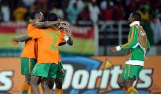 Sambias emotionale Rückkehr nach Libreville (Foto)