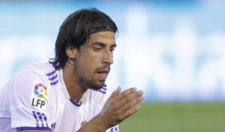Sami Khedira am Zeh verletzt - Kein Bruch (Foto)