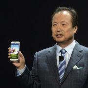 Samsungs Mobilfunk-Chef J.K. Shin präsentierte das Galaxy S4 in New York.