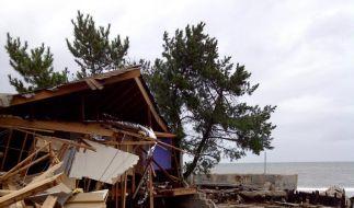 «Sandy» hat die Häuser zahlreicher Menschen zerstört. Allein in New York mussten 750.000 Menschen in Notunterkünfte. (Foto)
