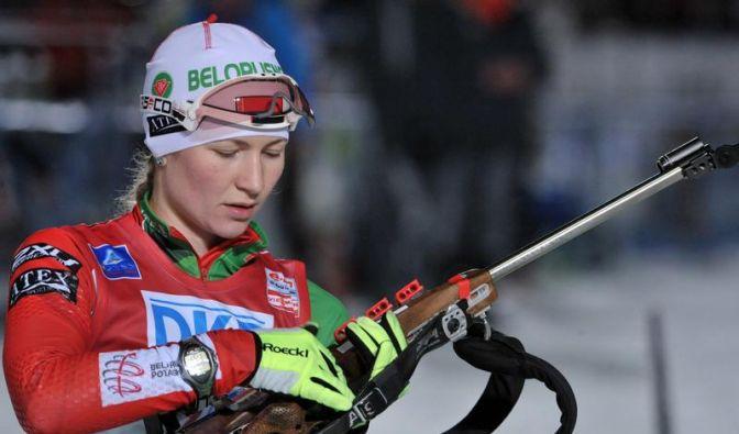 Sanktionen: Keine Kugeln für weißrussische Biathleten (Foto)