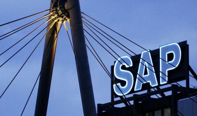SAP in der Datenwolke - «Cloud» gewinnt an Tempo (Foto)
