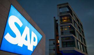 SAP wächst zweistellig - Rekordumsatz (Foto)