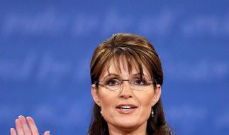 Sarah Palin sagt Bye, bye. Sie will nicht länger Gouverneurin von Alaska sein.  (Foto)