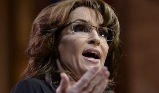 Sarah Palin gibt Donald Trump im US-Vorwahlkampf Rückendeckung. (Foto)