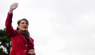 Sarah Palin sorgt vor allem bei amerikanischen Journalisten für Spekulationen. (Foto)