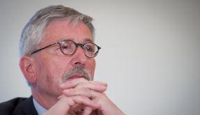 Sarrazin stellt sein Buch Europa braucht den Euro nicht vor (Foto)