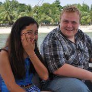 Sascha kann sich seine Dates aussuchen: In diesem Fall bringt er Jennifer zum Lachen.