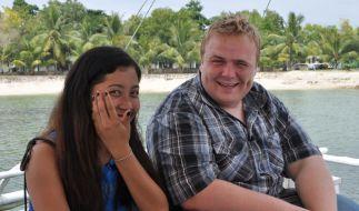 Sascha kann sich seine Dates aussuchen: In diesem Fall bringt er Jennifer zum Lachen. (Foto)