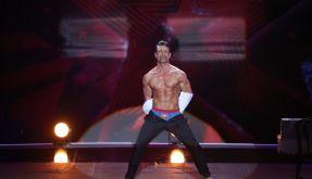 Sascha Mühle konnte mit seinen Muskeln punkten. (Foto)