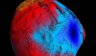 Satellit «Goce» zeichnet neues Bild der Erde (Foto)