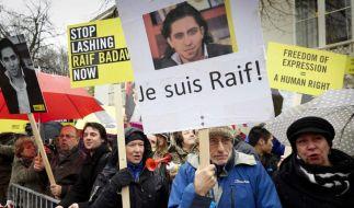 Saudi-Arabien verschiebt 50 Stockschläge für Blogger (Foto)