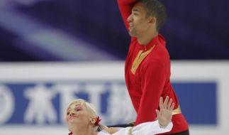 Savchenko/Szolkowy in Lauerstellung WM-Zweite (Foto)