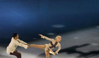 Savchenko/Szolkowy wollen Eislauf-Szene verblüffen (Foto)